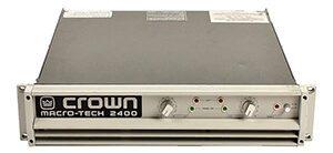 Cục đẩy công suất Crown 2400