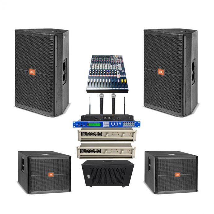 Dàn âm thanh hội trường nhỏ GB-01