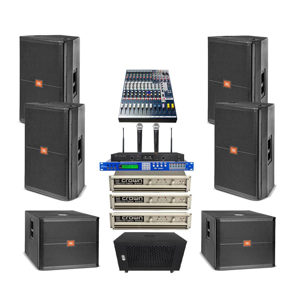 Dàn âm thanh hội trường nhỏ GB-02