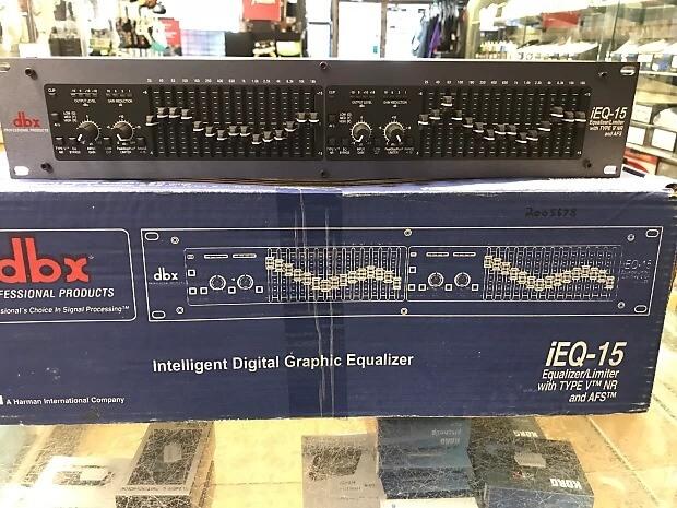 Hình ảnh thực tế của Equalizer IEQ15