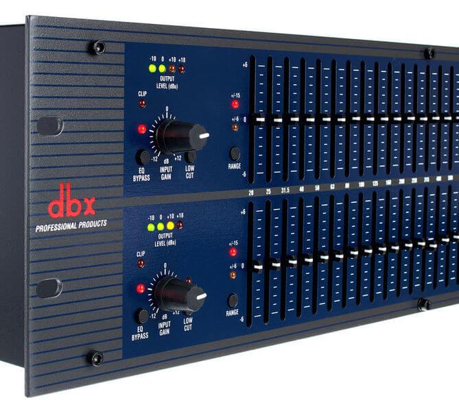 Núm chức năng của Equalizer dbx 1231