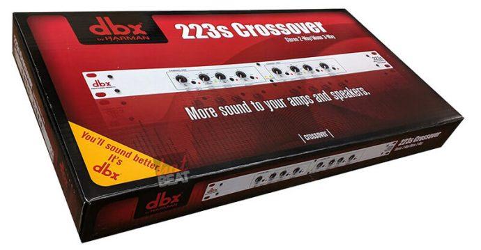 Thiết bị phân tần Crossover dbx 223s