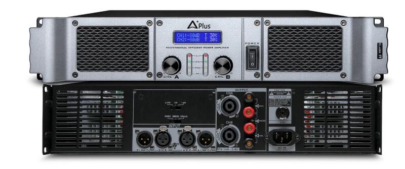 Cổng kết nối của cục đẩy Aplus GD-2400