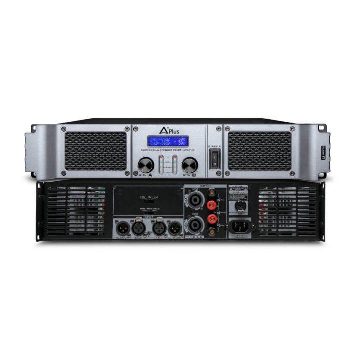 Cổng kết nối của cục đẩy công suất Aplus GD-2400