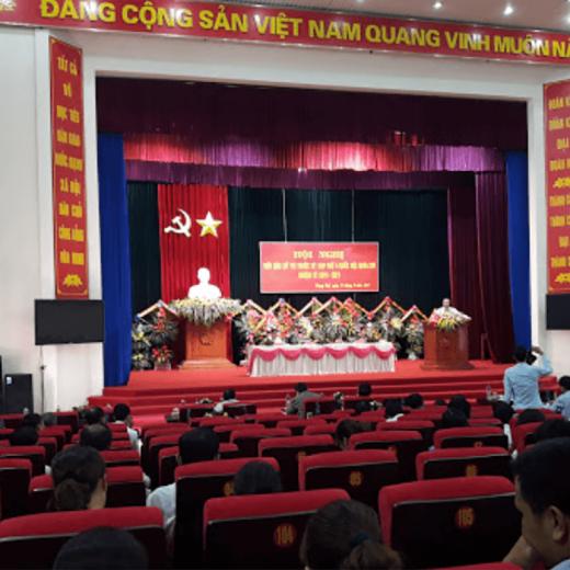 Dự án lắp đặt âm thanh hội trường tại Lai Châu