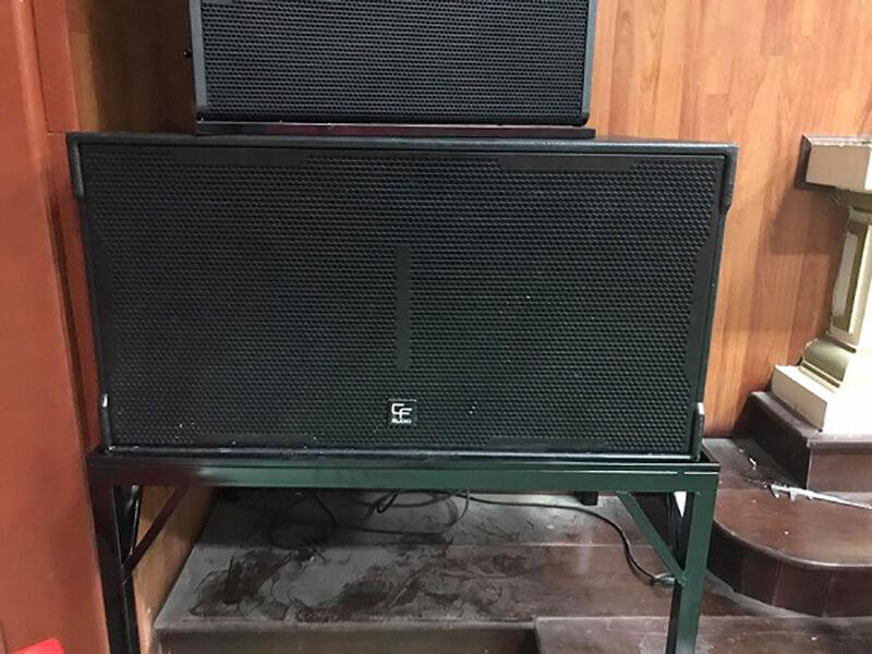 Dự án lắp đặt âm thanh tại tỉnh Hà Nam