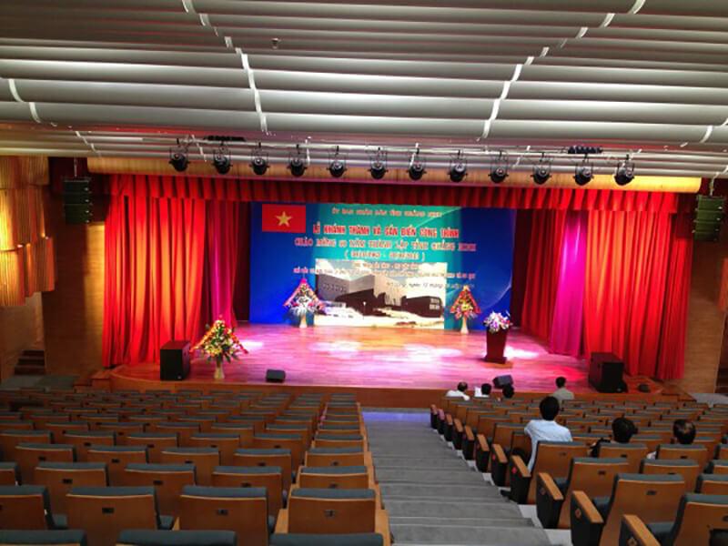 Hệ thống âm thanh hội trường cao cấp tại Quảng Ninh