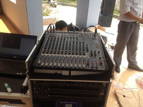 Hệ thống âm thanh hội trường tại Lai Châu