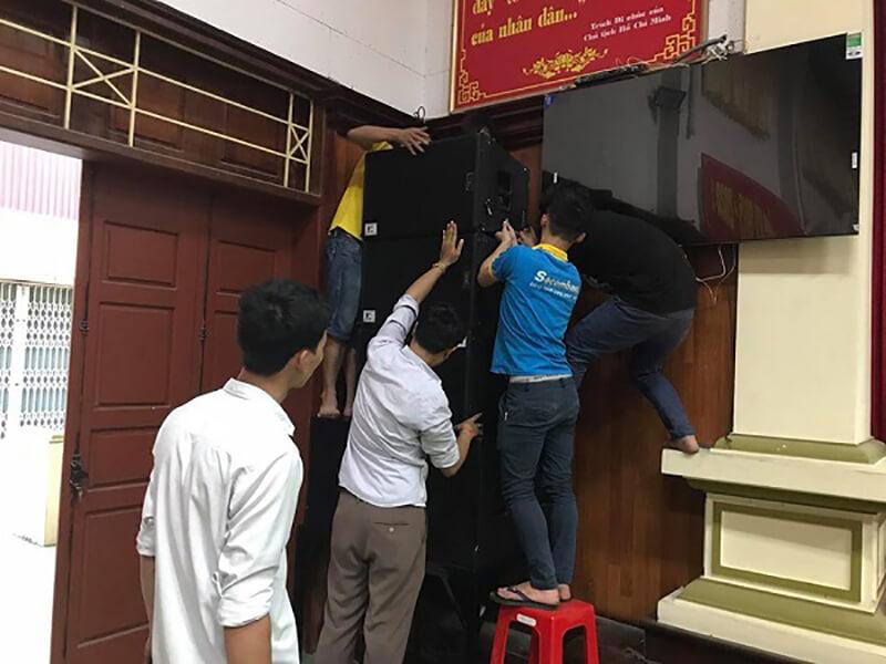 Lắp đặt âm thanh hội trường tại tỉnh Hà Nam
