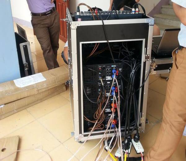 Lắp đặt âm thanh hội trường tại tỉnh Lai Châu