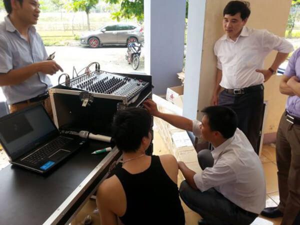 Lắp đặt hệ thông loa hội trường tại Lai Châu