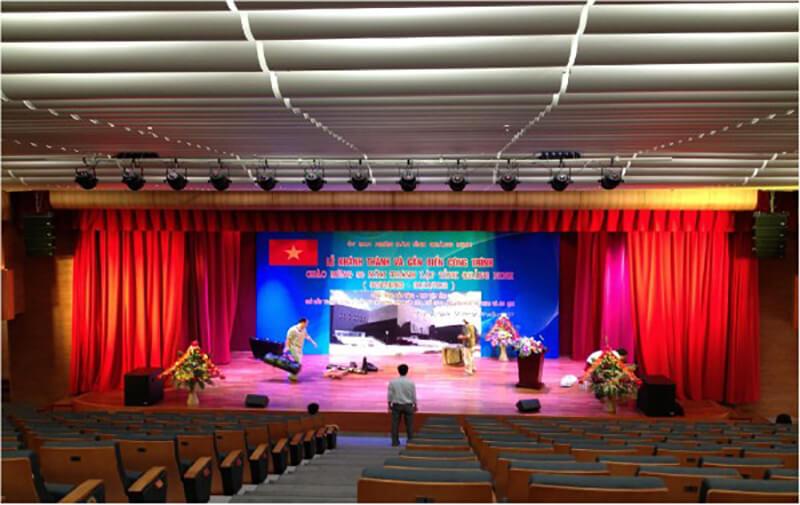 Lắp đặt hệ thống hội trường tại tỉnh Quảng Ninh