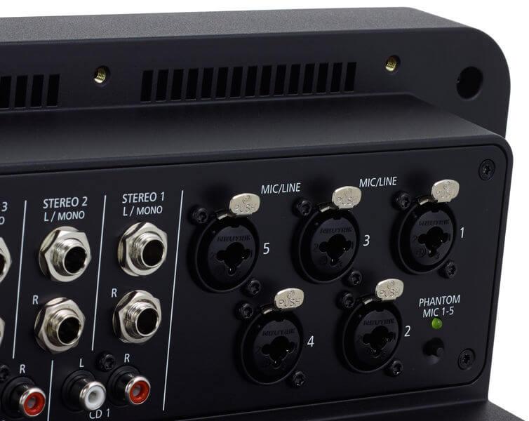 Đầu vào Mic của Mixer Dynacord PM 502