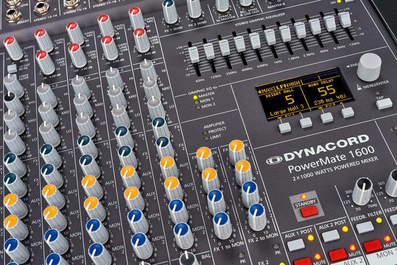 Bàn trộn Mixer Dynacord PowerMate 1600-3
