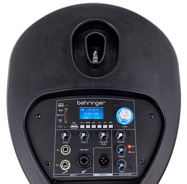 Bảng điều khiển của Loa Behringer C200