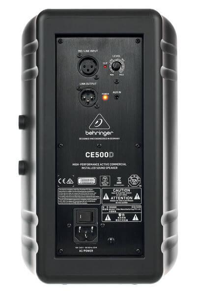 Mặt sau của Loa Behringer CE500D