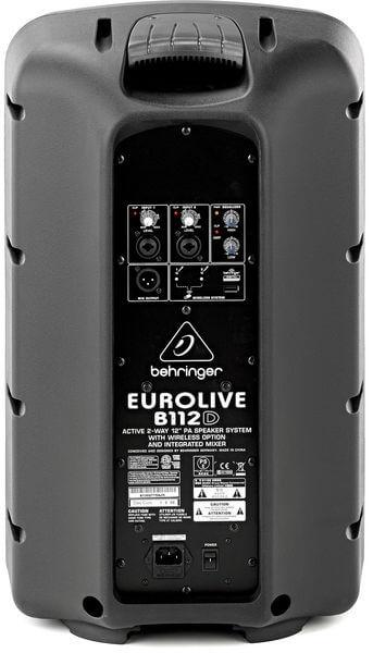 Mặt sau của Loa Behringer Eurolive B112D