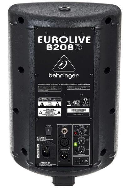 Mặt sau của Loa Behringer Eurolive B208D