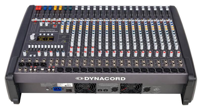 Mặt sau của Mixer Dynacord PowerMate 1600-3