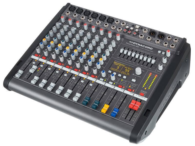 Mặt trước Mixer Dynacord Powermate 600-3