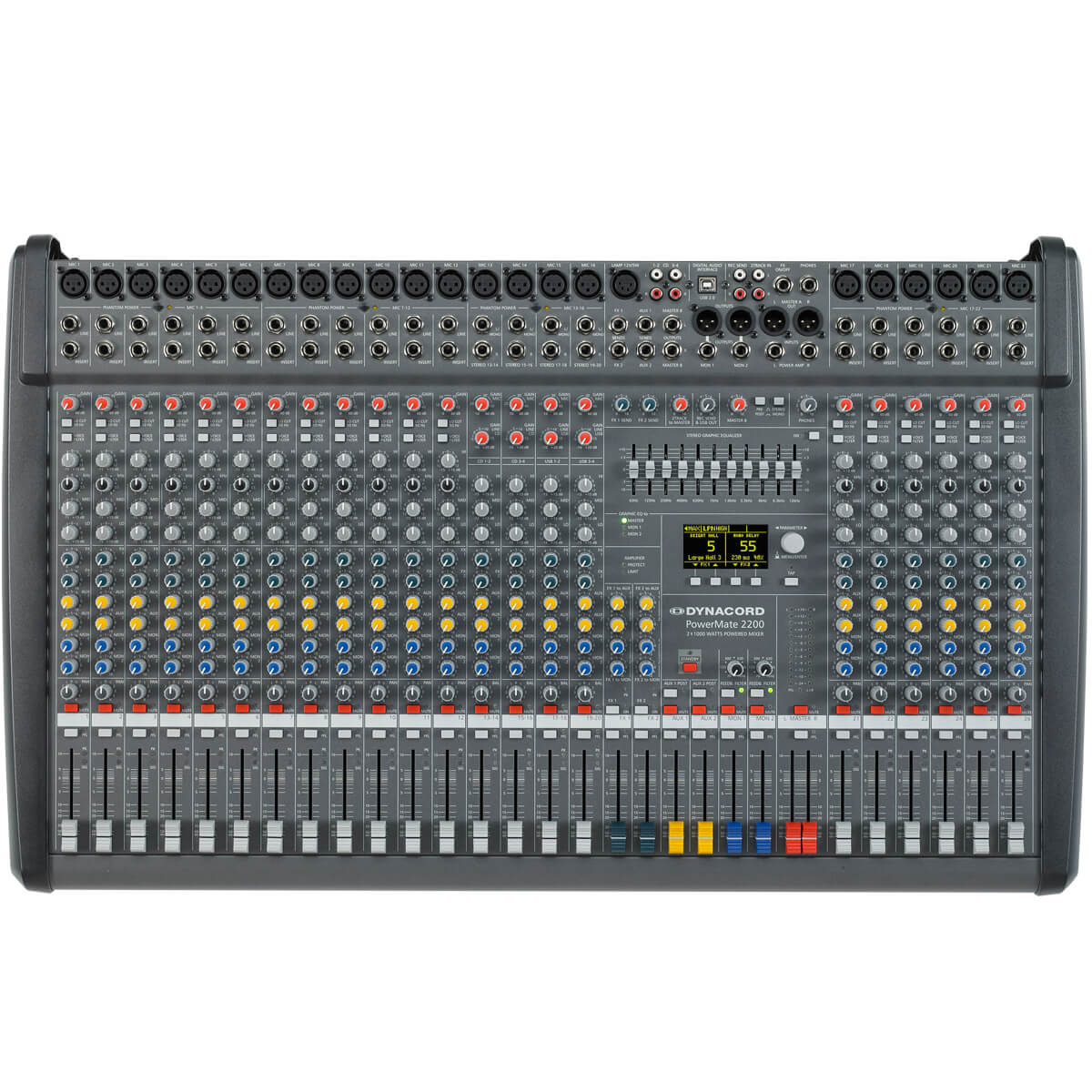 Mixer Dynacord PowerMate 2200-3 nhap khau