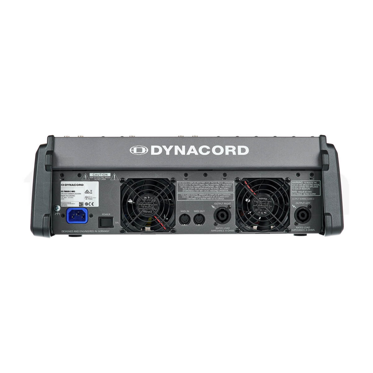 Mixer Dynacord Powermate 600-3 chính hãng