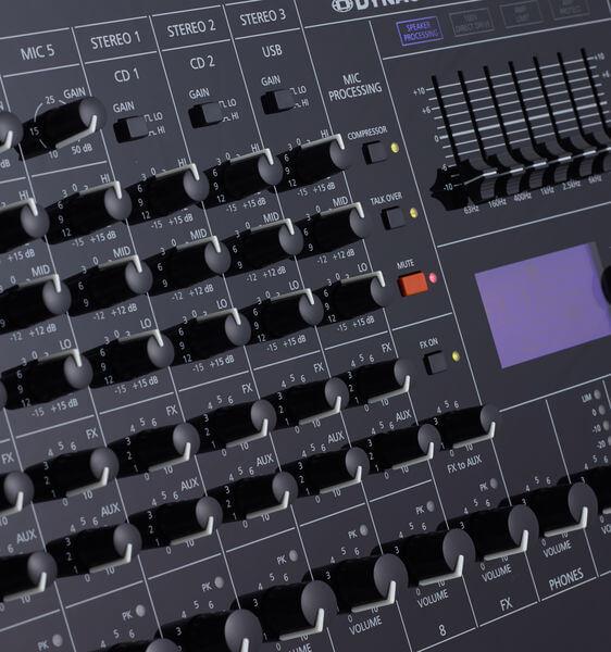 Núm điều khiển của Mixer Dynacord PM 502
