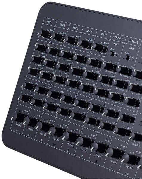 Núm điều khiển của bàn Mixer Dynacord PM 502