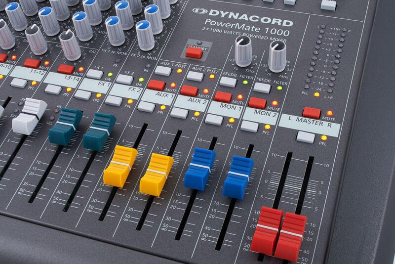Thanh Fader tổng của Mixer Dynacord Powermate 1000-3