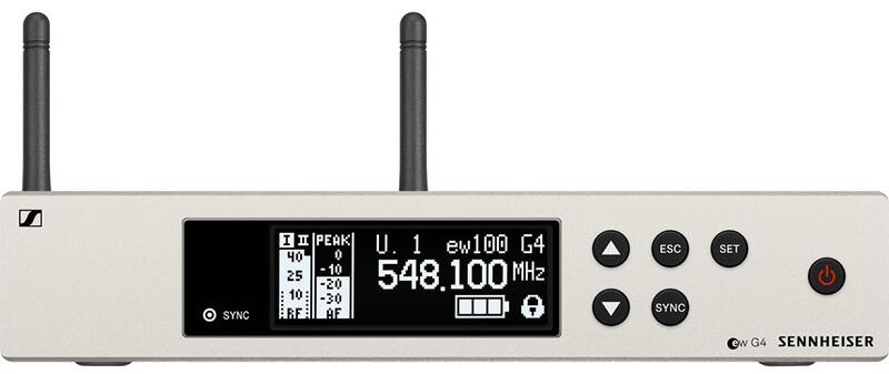 Bô thu Sennheiser EW 100 G4-865-S