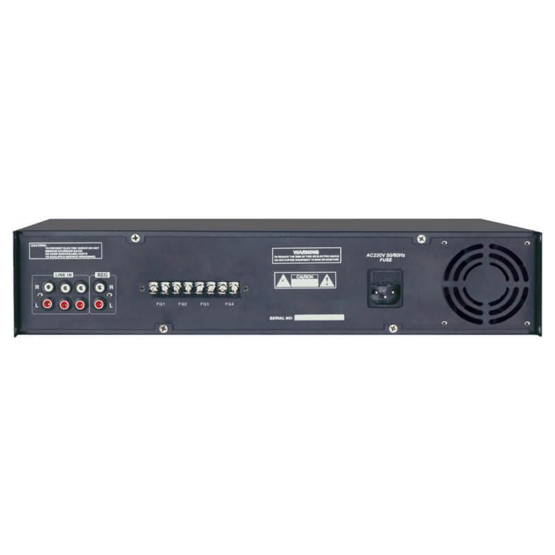 Amply Aplus AP-4A650 chọn 4 vùng âm thanh - APluspa.vn