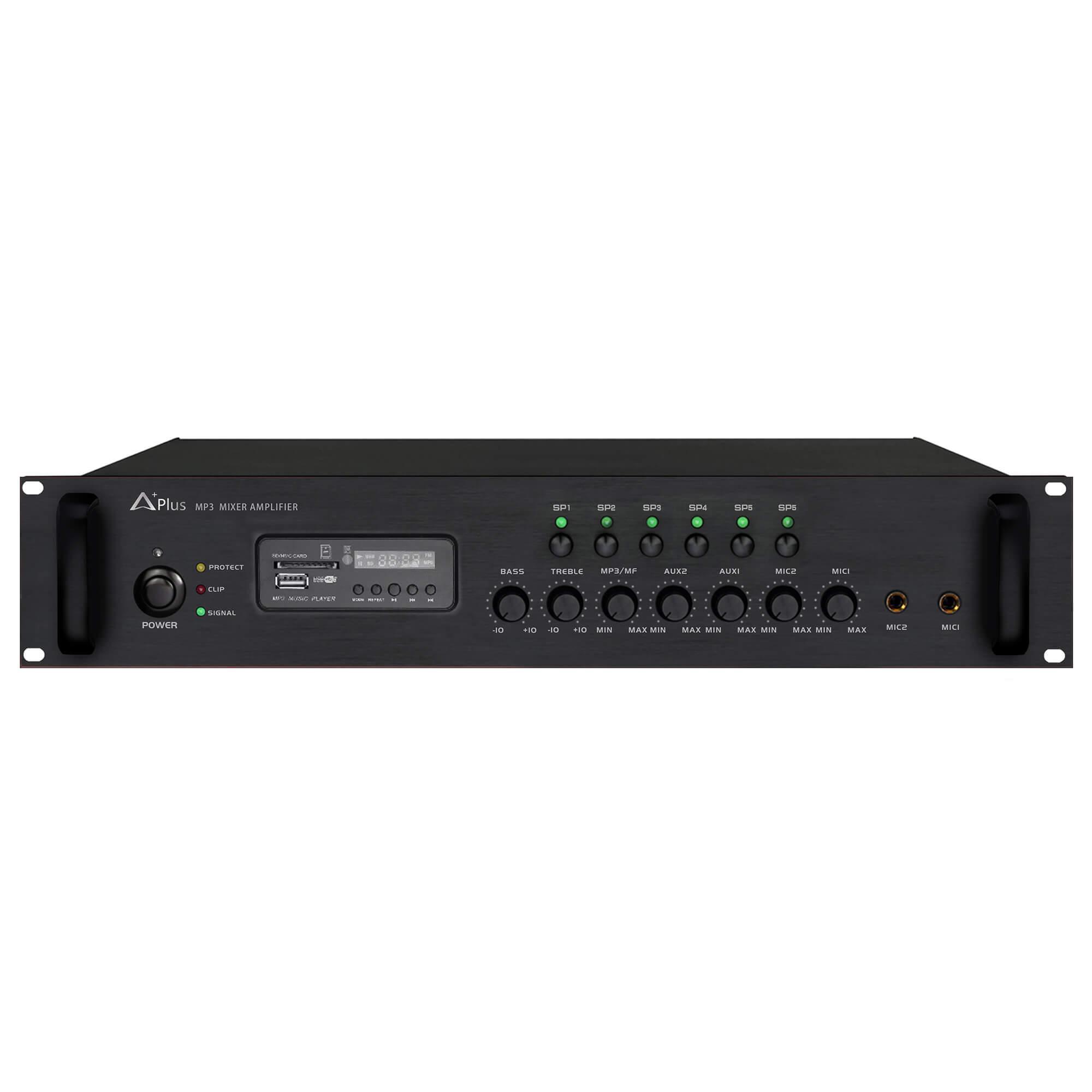 Amply liền mixer Aplus AS-6Z120 Giá Rẻ Chất Lượng Cao