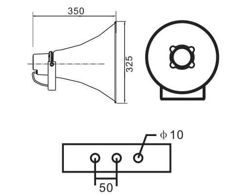 Loa phóng thanh APlus A-H130T | Uy tín | Chất lượng | Giá rẻ