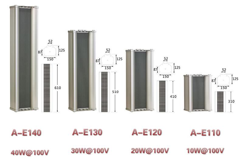 Loa cột nhập khẩu Aplus A-E140