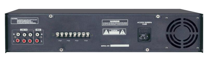 Mặt sau Amply 6 vùng Aplus AP-6Z360